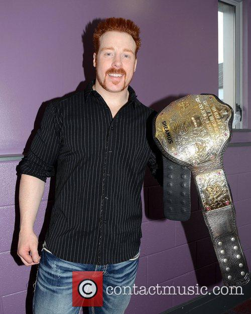 WWE Superstar Sheamus retains his World Heavyweight title...