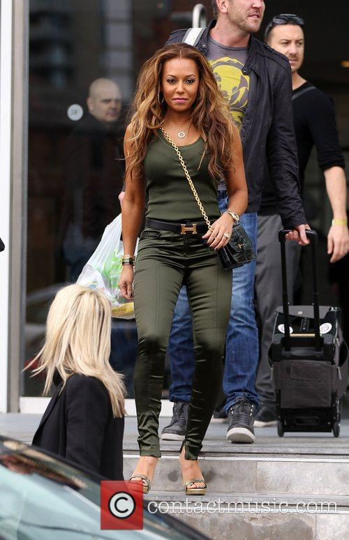 Mel B and The X Factor 1