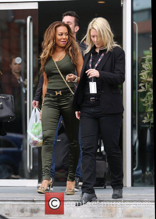Mel B and The X Factor 8