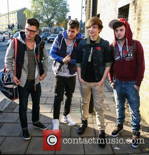 Jamie Hamblett, Josh Cuthbert, George Shelley, Jaymi Hensley, Union J and The X Factor 1