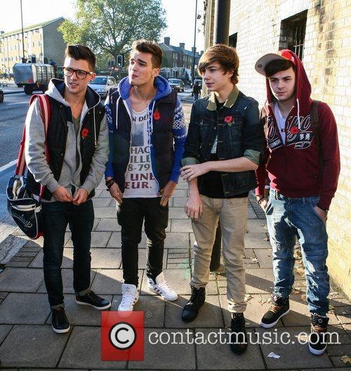 Jamie Hamblett, Josh Cuthbert, George Shelley, Jaymi Hensley, Union J and The X Factor 5