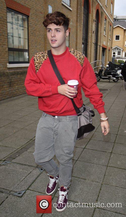 Jaymi Hensley of Union J 'The X Factor'...