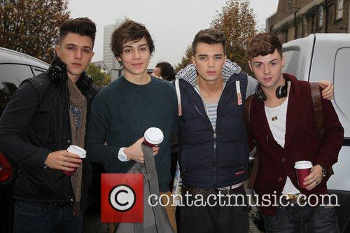 Jamie Hamblett, George Shelley, Josh Cuthbert, Jaymi Hensley, Union J and The X Factor 2