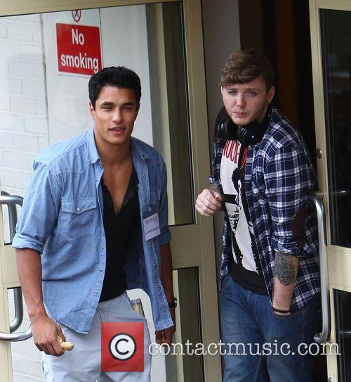 Staz Nair, Times Red, James Arthur and X Factor 8