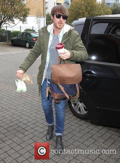 Kye Sones arrives at 'The X Factor' rehearsal...