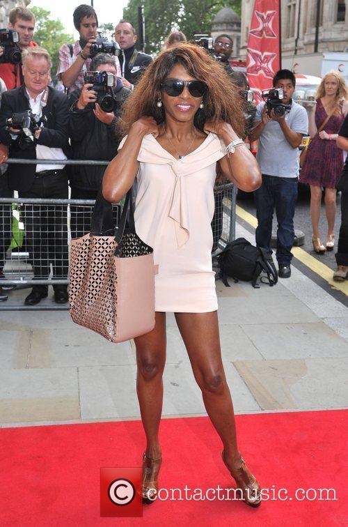 Sinitta The X Factor - press launch held...