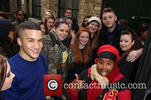 Jahmene Douglas, James Arthur and The X Factor 4