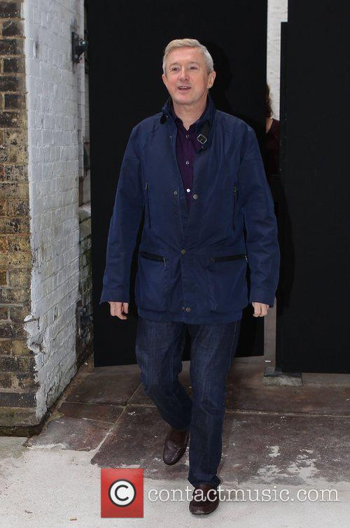 Louis Walsh leaves 'The X Factor' rehearsal studios...