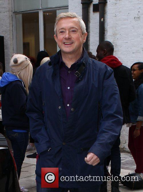 louis walsh leaves the x factor rehearsal 4127126