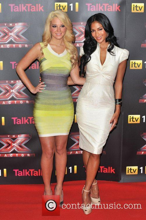 Tulisa Contostavlos, Nicole Scherzinger and The X Factor 4