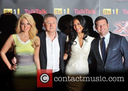 Louis Walsh, Nicole Scherzinger and Tulisa Contostavlos 1