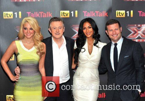 Louis Walsh, Nicole Scherzinger and Tulisa Contostavlos 9