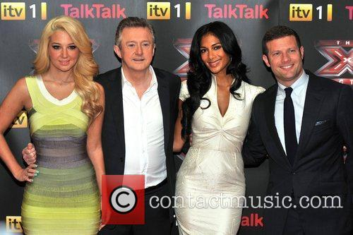 Louis Walsh, Nicole Scherzinger and Tulisa Contostavlos 10