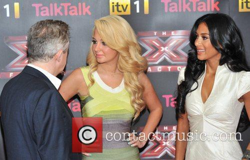 Louis Walsh, Nicole Scherzinger, Tulisa Contostavlos and The X Factor 2