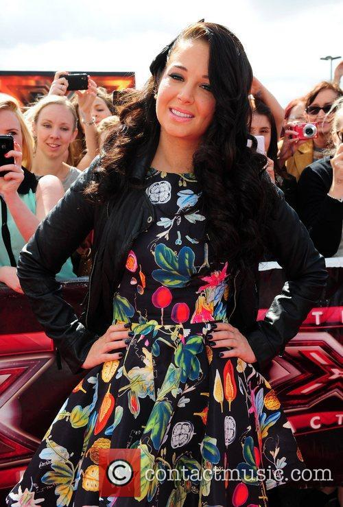 Tulisa Contostavlos and The X Factor 10
