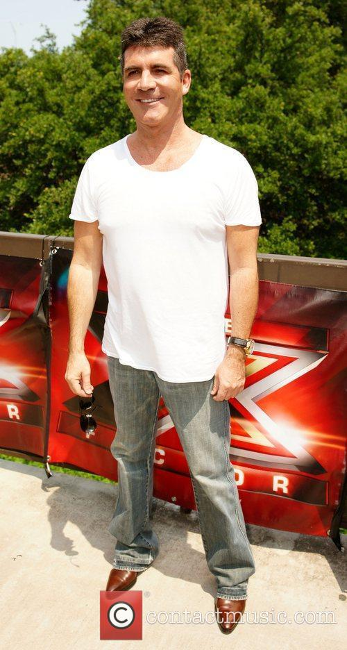 Arrives for The X Factor auditions held at...