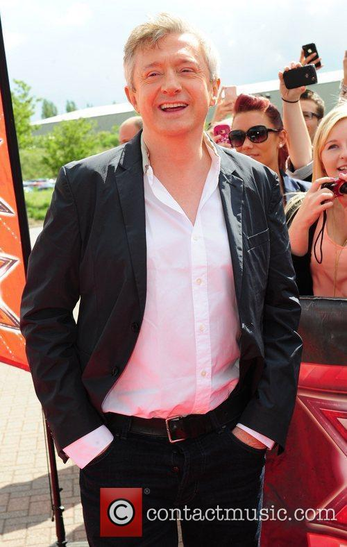 Louis Walsh 'The X Factor' auditions in Manchester...
