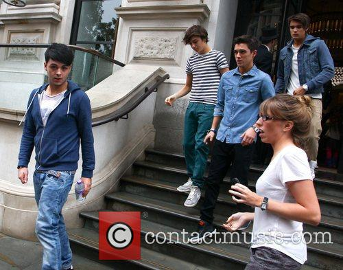 'The X Factor' final contestants at their hotel...