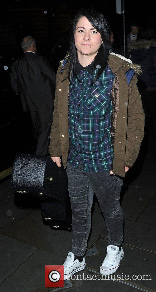 'The X Factor' contestants arrive back at their...