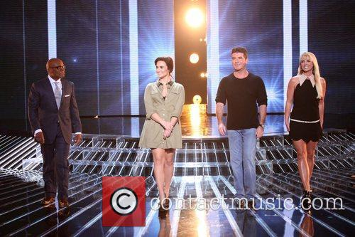 L, A. Reid, Demi Lovato, Simon Cowell, Britney Spears and The X Factor 4