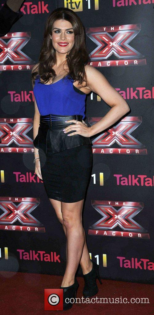 Carolynne Poole X Factor final photcall Manchester Convention...