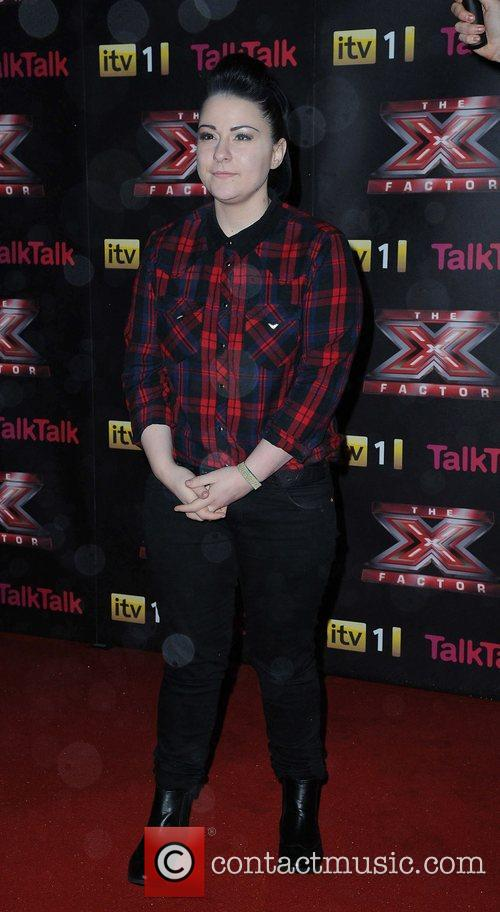 Lucy Spraggan X Factor final photcall Manchester Convention...