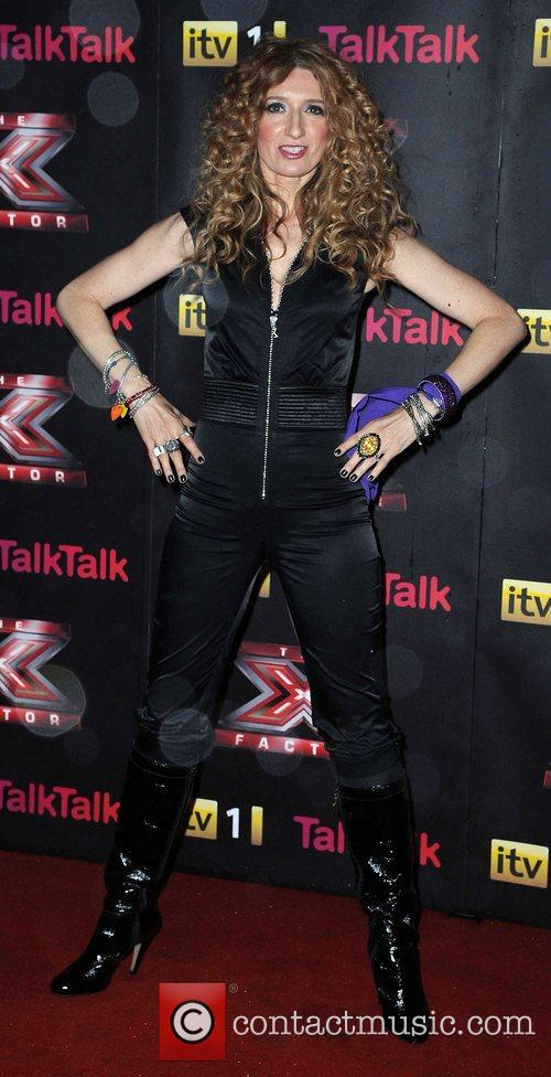 Melanie Masson X Factor final photcall Manchester Convention...