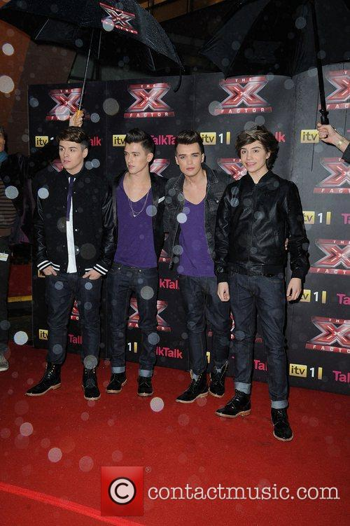 Union J X Factor final photcall Manchester Convention...