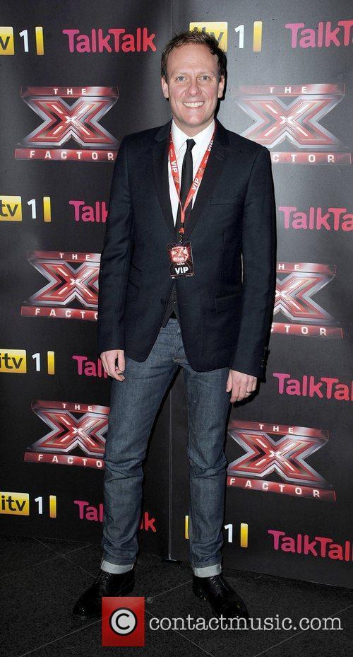 Antony Cotton and X Factor 1