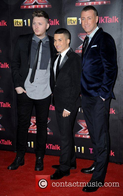 James Arthur, Jermaine Douglas, Christopher Maloney and X Factor 2