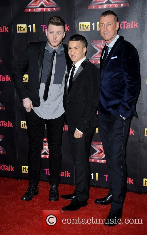 James Arthur, Jermaine Douglas, Christopher Maloney and X Factor 1