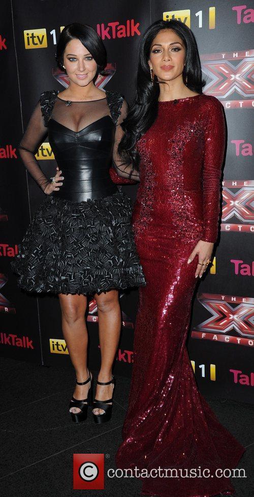 Tulisa Contostavlos, Nicole Scherzinger and X Factor 2