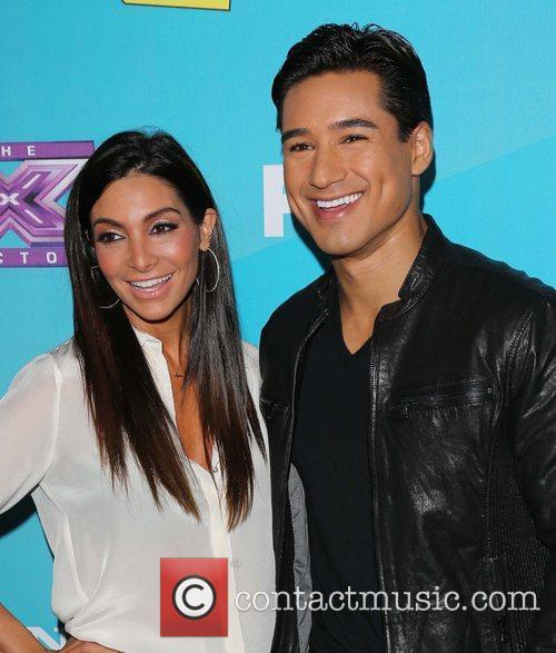 Courtney Mazza and Mario Lopez 2