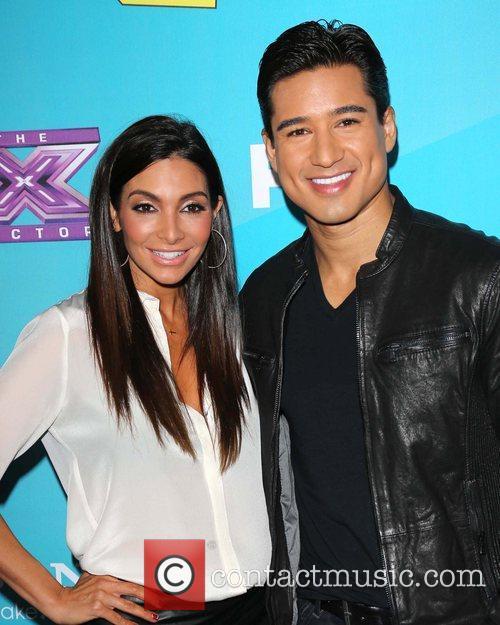 Courtney Mazza and Mario Lopez 3
