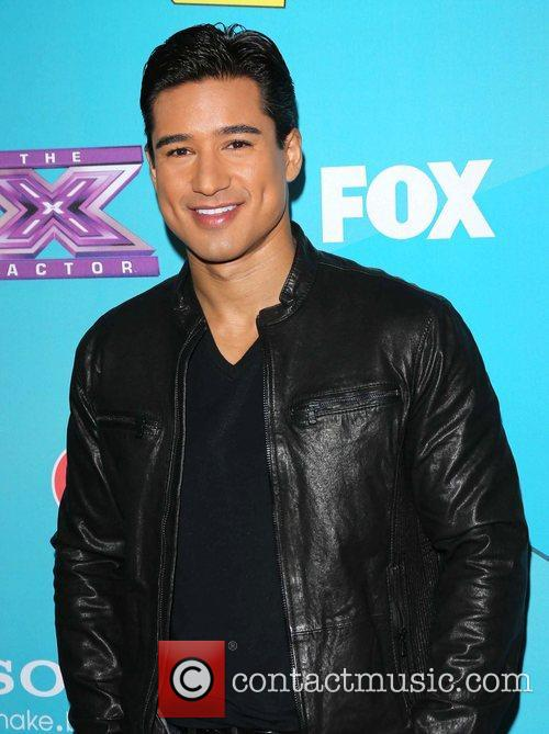 Mario Lopez and The X Factor 3