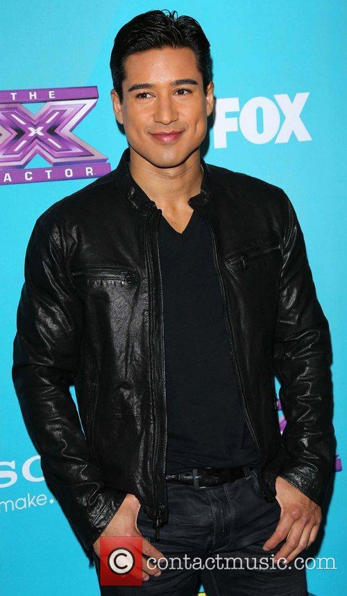 Mario Lopez and The X Factor 7