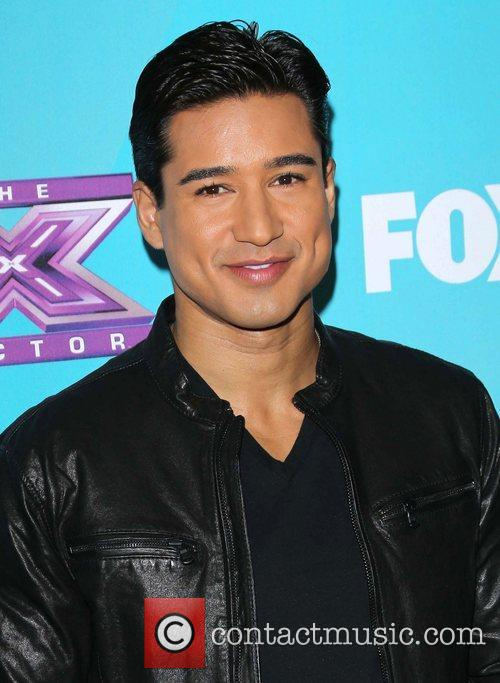 Mario Lopez and The X Factor 2