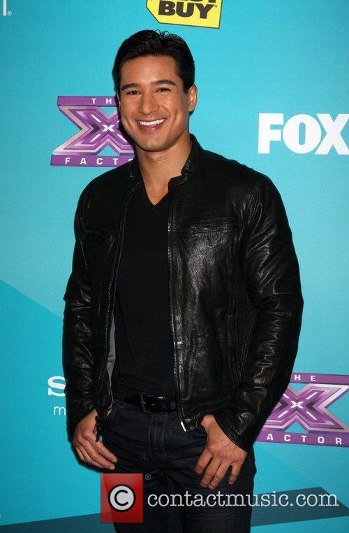 Mario Lopez and The X Factor 9