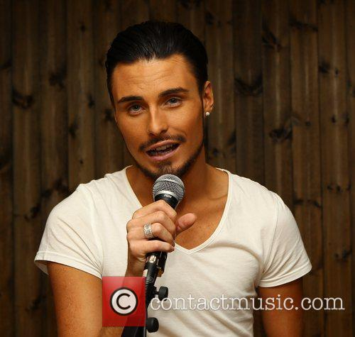 'X Factor' Wildcard Adam Burridge plays a small...
