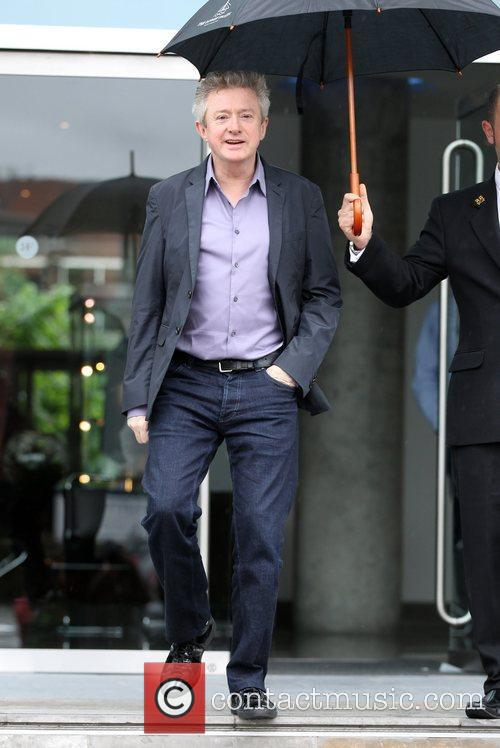 Louis Walsh  leaving his hotel ahead of...
