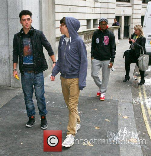 Jamie Hamblett, George Shelley, Union J, Simeon Dixon and X Factor 5