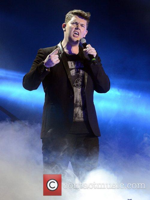 Craig Colton 'X Factor Tour' live at the...