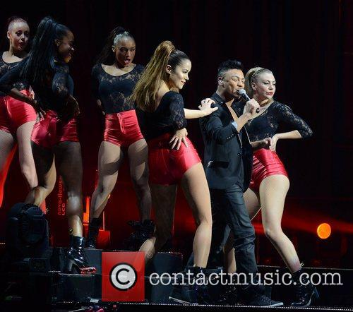 Marcus Collins 'X Factor Tour' live at the...