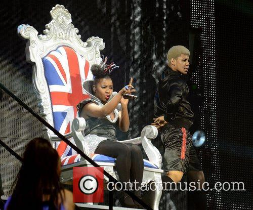 Micha B 'X Factor Tour' live at the...
