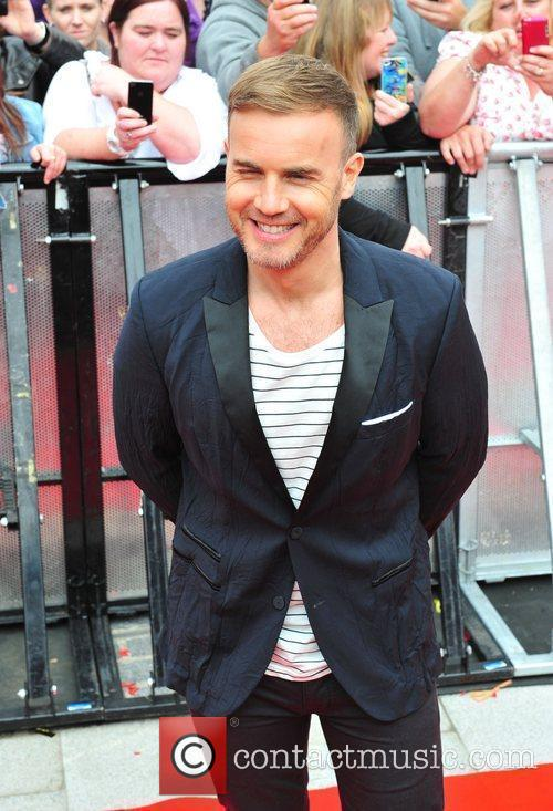Gary Barlow  'X Factor' auditions in Liverpool...