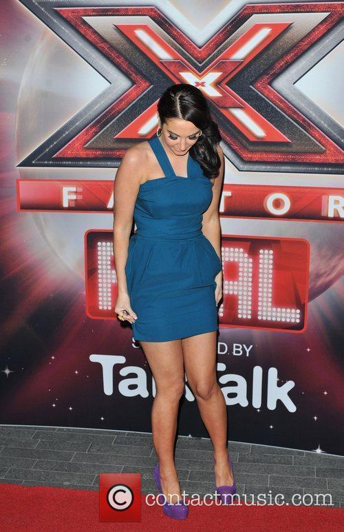 Tulisa Contostavlos and The X Factor 4