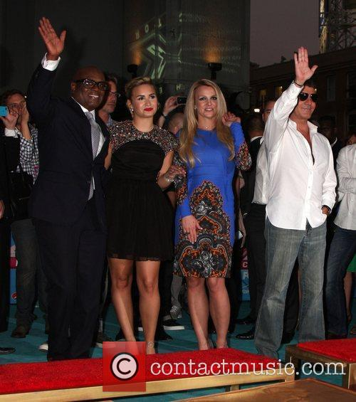 Demi Lovato, Britney Spears, Simon Cowell and X Factor 4