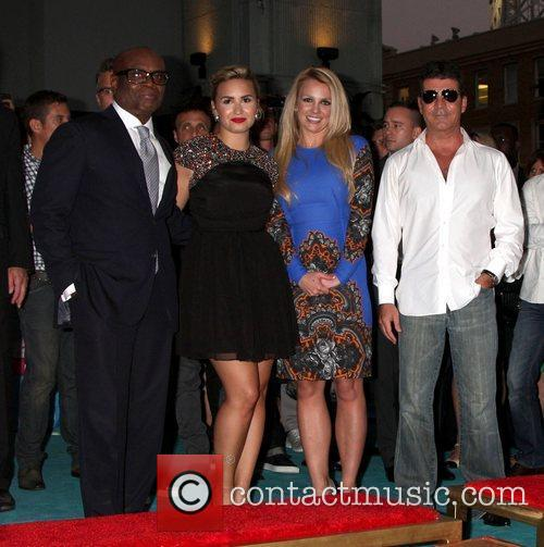 Demi Lovato, Britney Spears, Simon Cowell and X Factor 5