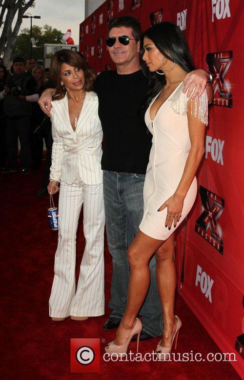 Paula Abdul, Nicole Scherzinger, Simon Cowell and The X Factor 6