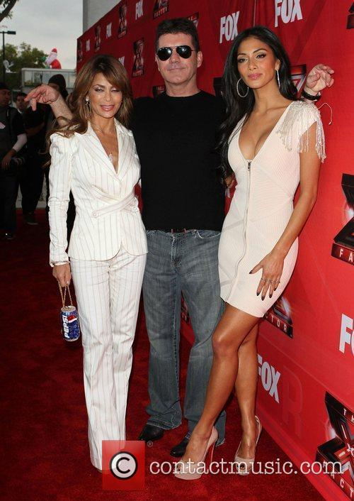 Paula Abdul, Nicole Scherzinger, Simon Cowell and The X Factor 11